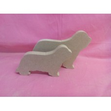 18mm MDF Bearded collie small